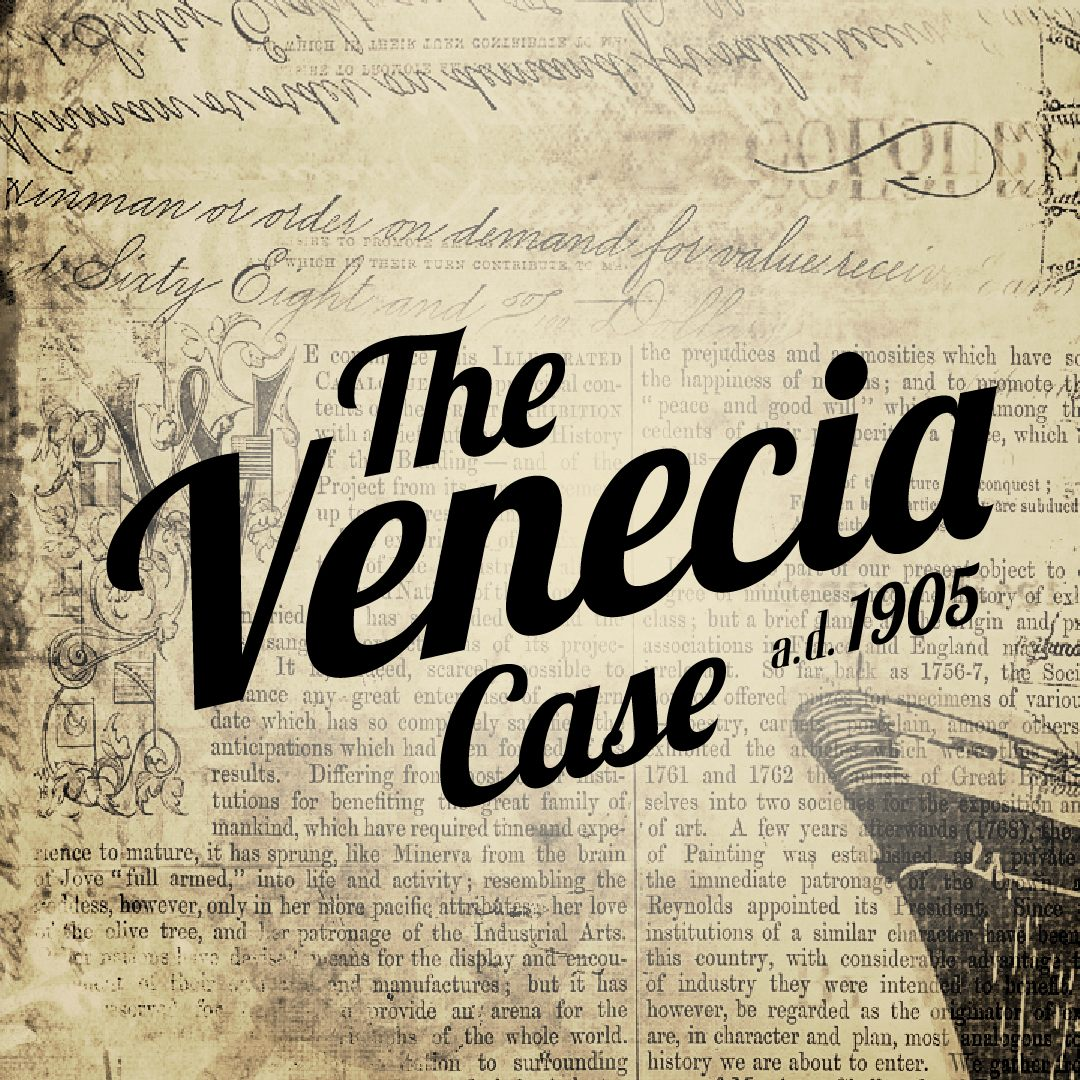 Spielprototypen The Venecia Case multilineare Visual Novel