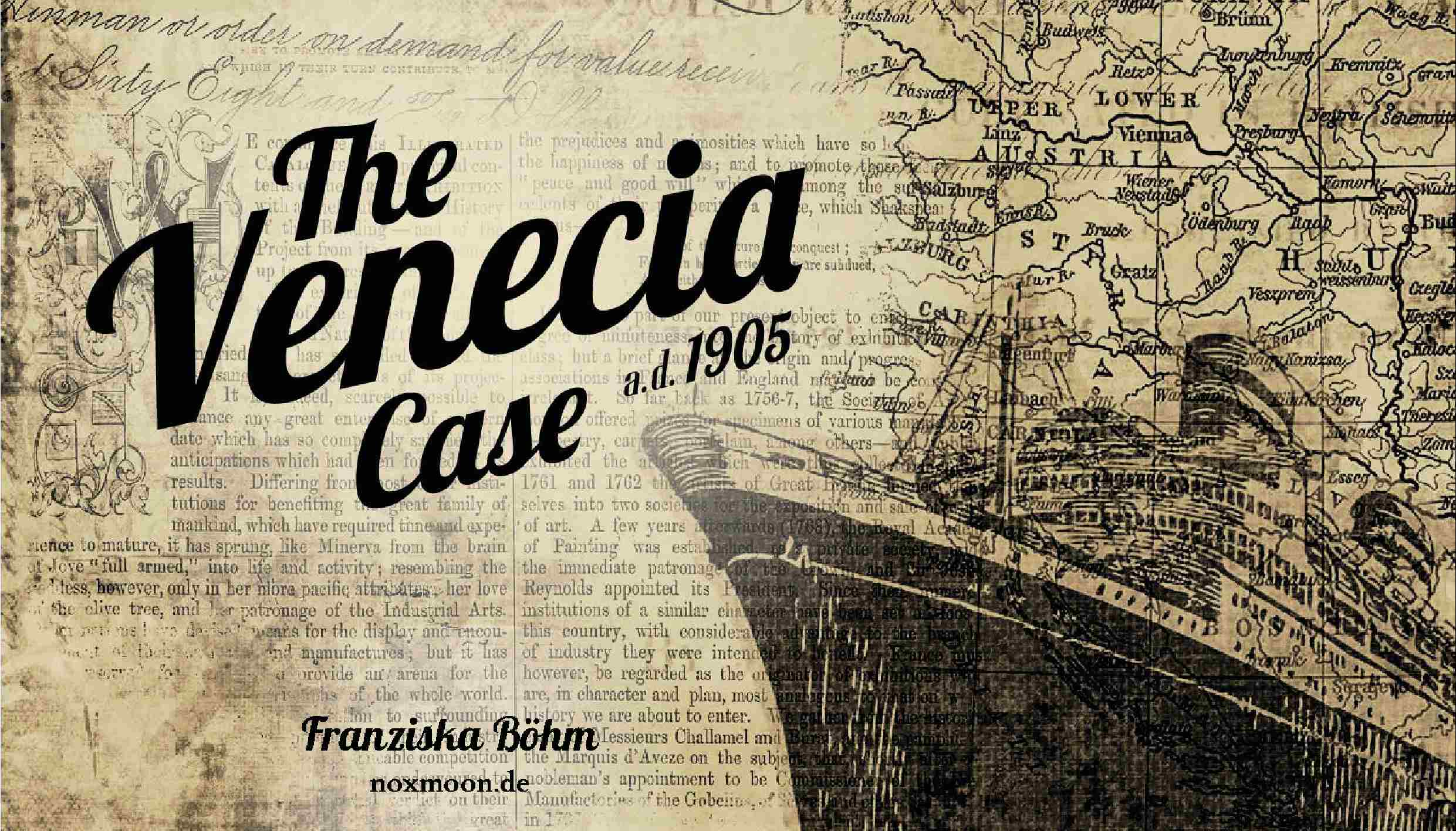 The Venecia Case Visual Novel